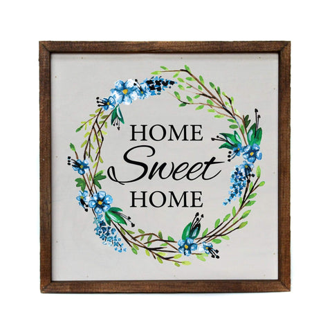 "Driftless Studios ""Home Sweet Home"" Wood Sign"