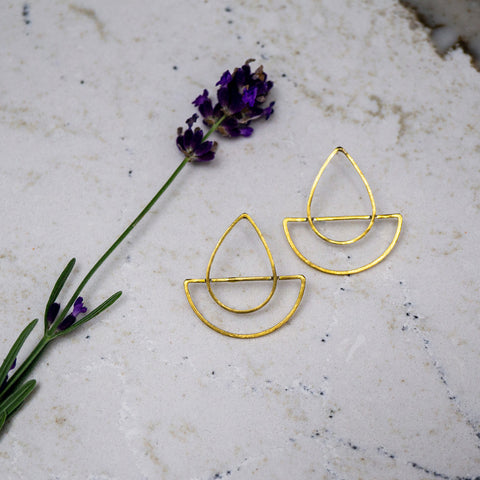 The Cattleya Earrings