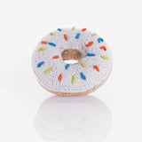White Donut Rattle