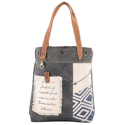 Bhrayna Bags Grey Wonder Tote Bag