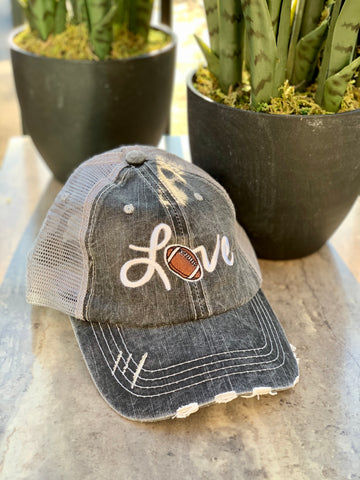 Love Trucker Hat (Football emblem)