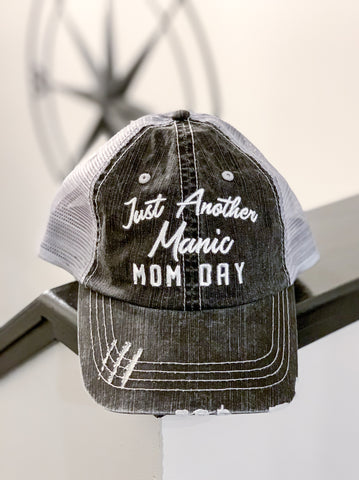 Just Another Manic Mom Monday Trucker Hat
