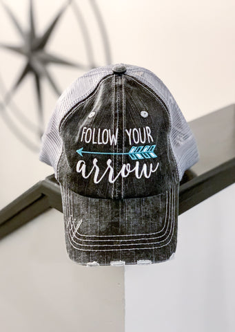 Follow your Arrow Trucker Hat