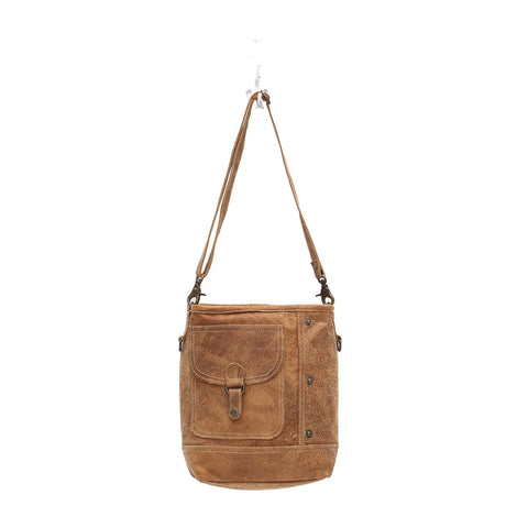 Myra Bags Flap Pocket Shoulder Bag