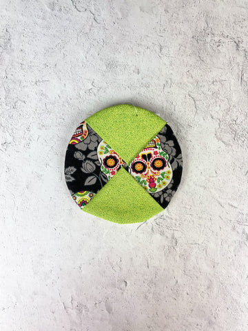 Candy Skull Wine Charm Coaster