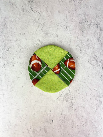 Football Wine Charm Coaster