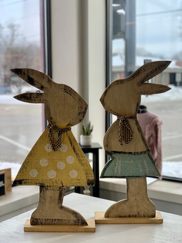 Mrs. and Mrs. Spring Bunny