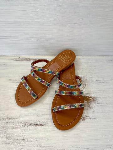 The Lulu Sandal - Rainbow