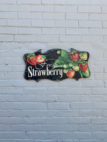 Fresh Strawberry Wall Decor