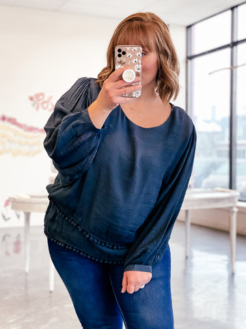 The Janine Top (Sizes XL-2x)