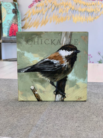 Over The Moon Chickadee Picture