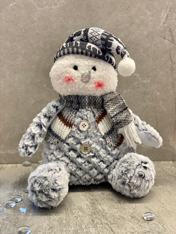 Plush Snow Man
