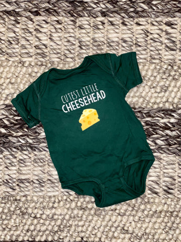 Cutest Little Cheesehead Onesies