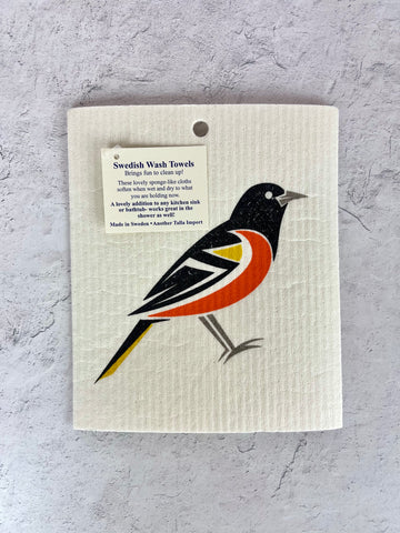 Oriole Wash Towel