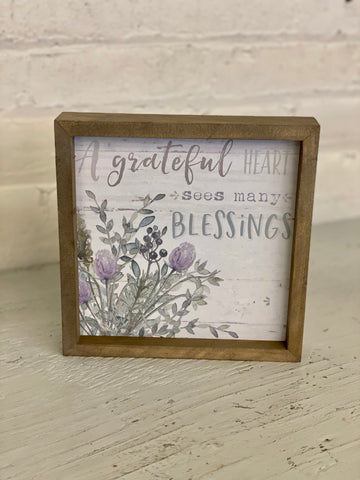 Grateful Heart Sign