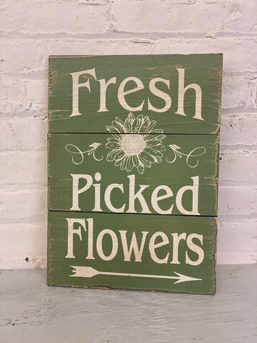 Fresh Picked Flowers Wall Decor