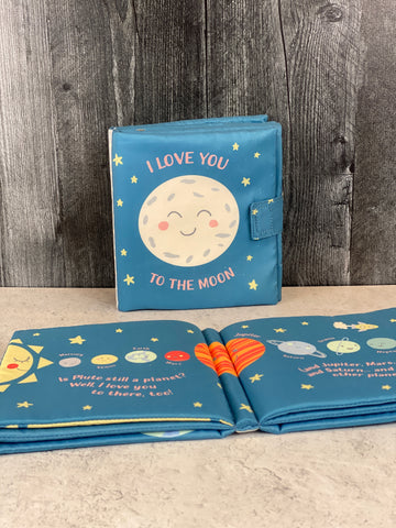 I Love You to the Moon Kids' Book