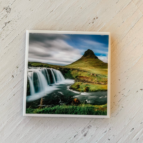 Waterfall in Norway Coaster