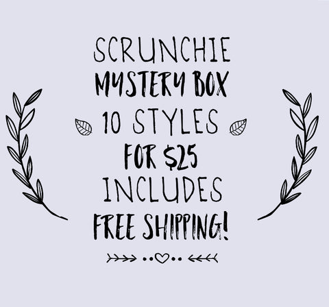 Scrunchie Mystery Box