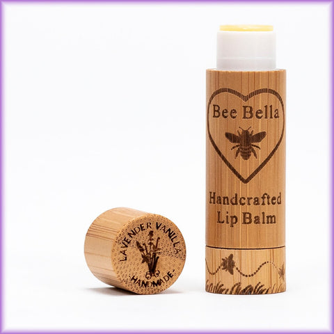 Bee Bella Natural Lip Balm - Lavender and Vanilla