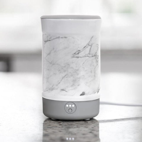 Happy Wax Signature Wax Warmer - White Marble