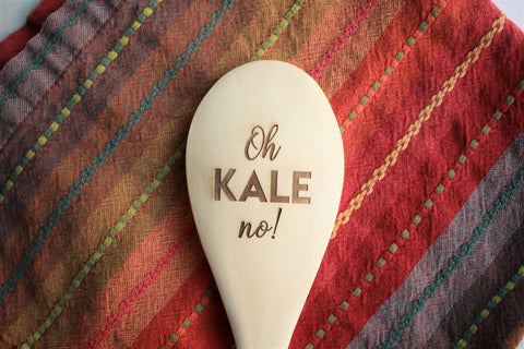 Oh Kale No Wooden Spoon