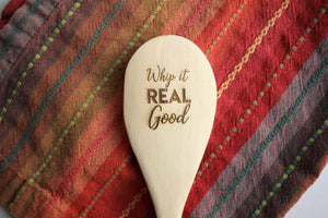 Whip It Real Good Wooden Spoon