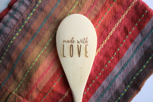 Made With Love Wooden Spoon