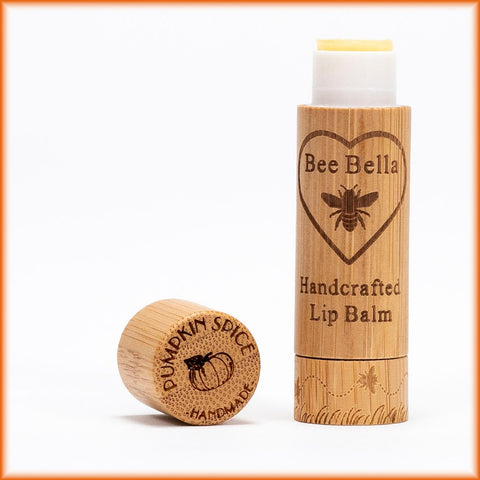 Bee Bella Natural Lip Balm - Pumpkin Spice