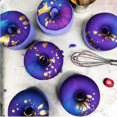 Lavender Honey Bath Doughnuts
