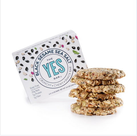 Yes Bar Vegan Black Sesame Sea Salt