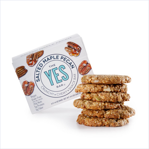 Yes Bar Vegan Salted Maple Pecan