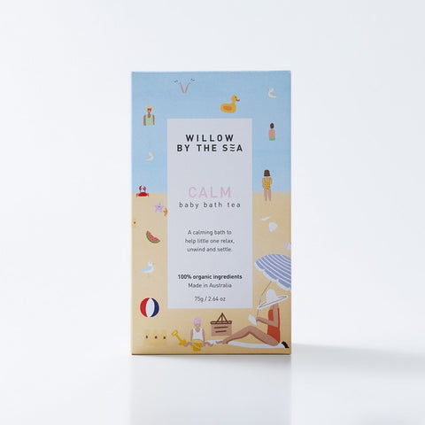 Organic Calm Baby Bath Tea by Willow By The Sea