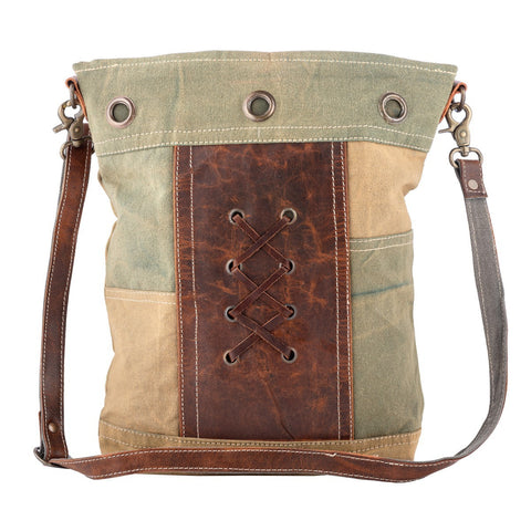 Bhrayna Bags Toned Leaves Shoulder Bag