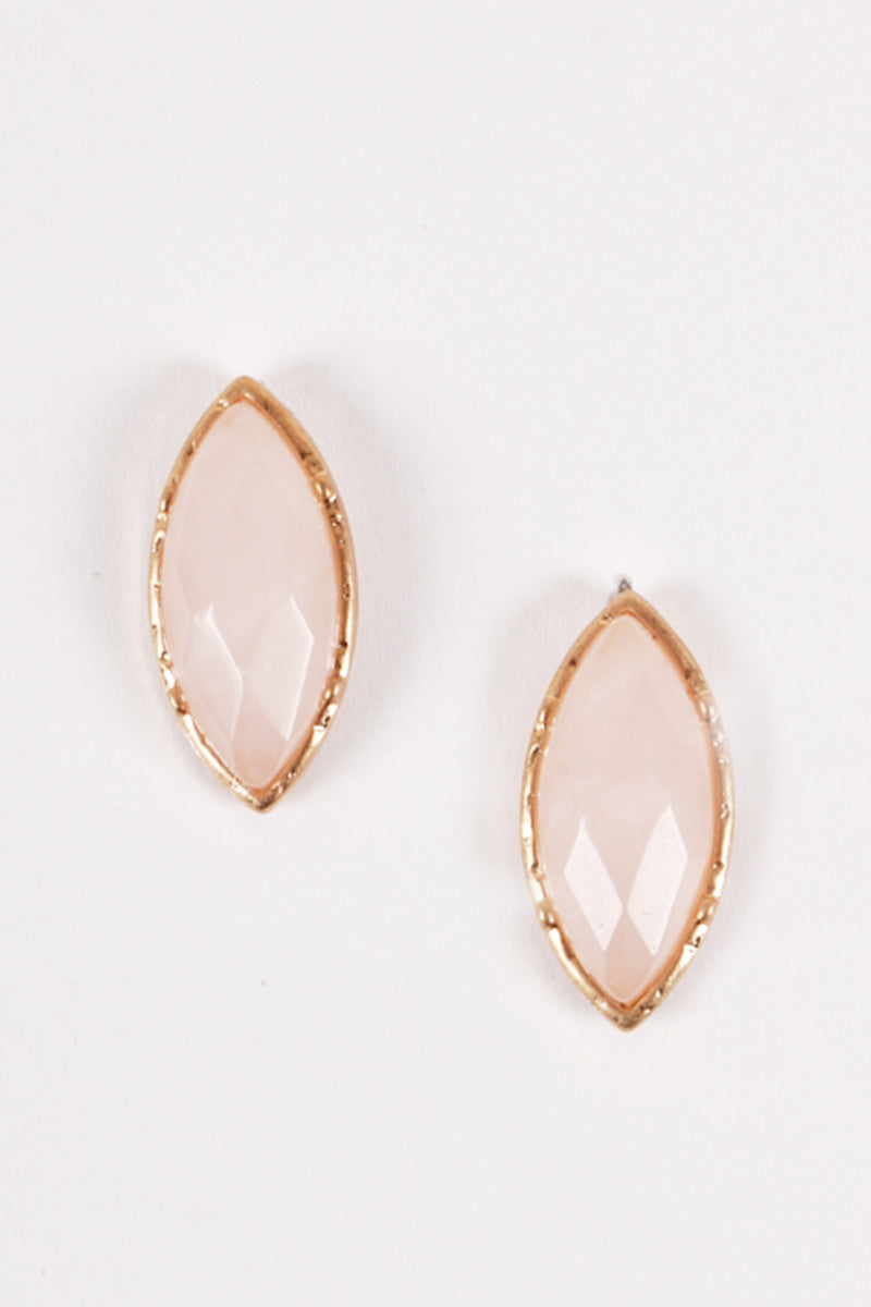 The Adelaide Earrings - Rose