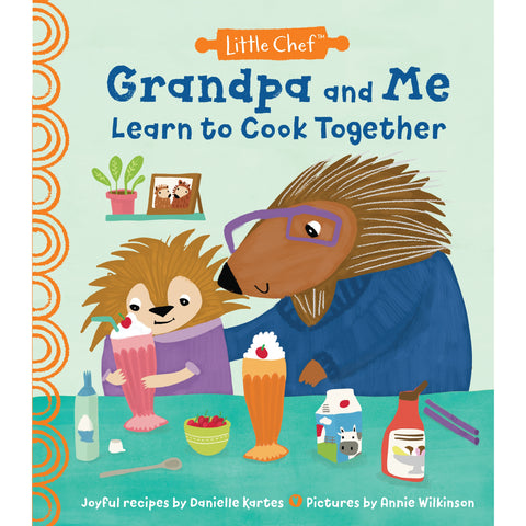Grandpa and Me Cooking Together Book