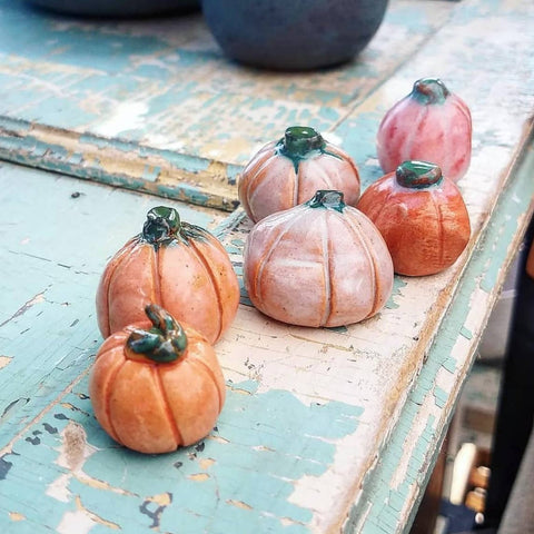 Mini Handmade Pumpkins