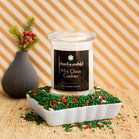 Mrs. Claus' Cookies Candle
