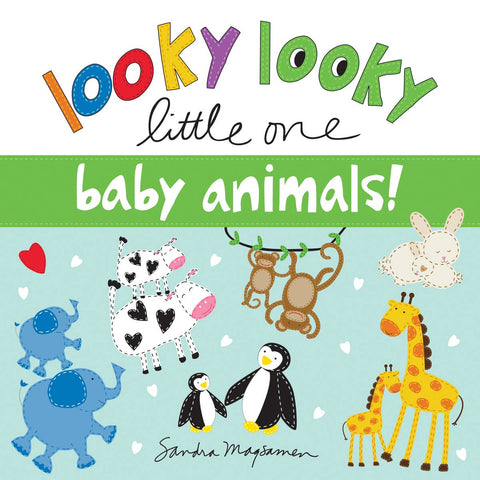 Looky Looky Little One Baby Animals Book