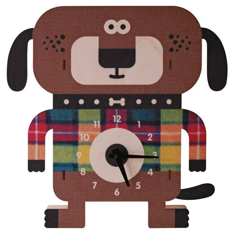 Wagner Dog Clock