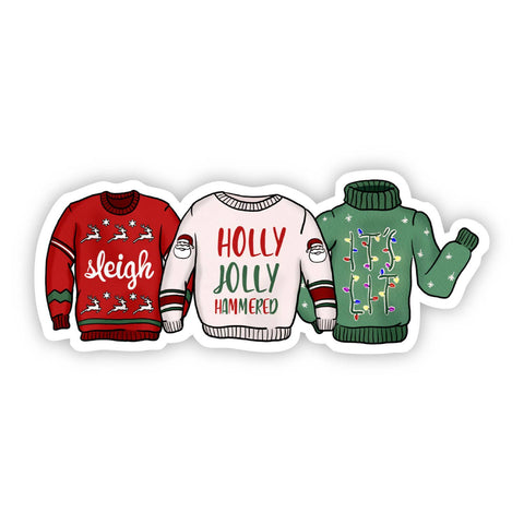 Holiday Sweater Sticker