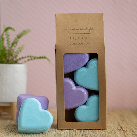 Sweetheart Bath Bomb - Lavender & Coconut