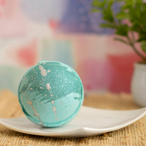 Rosemary Mint Bubble Bath Bomb
