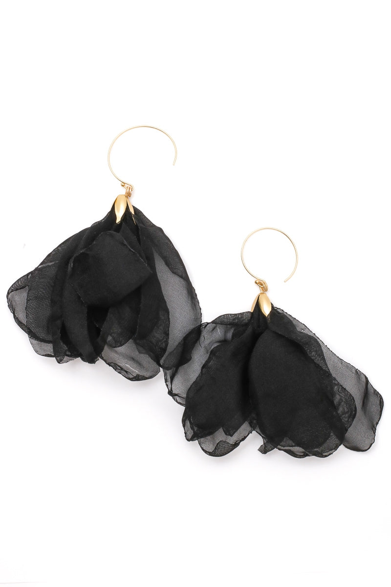 The Provence Earrings - Black