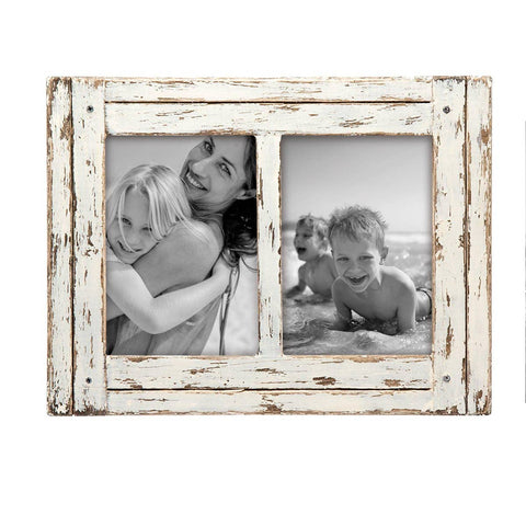 "5""x7"" Decorative Distressed Wood Picture Frame"