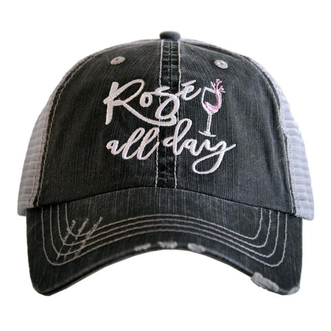Rosé All Day Trucker Hat