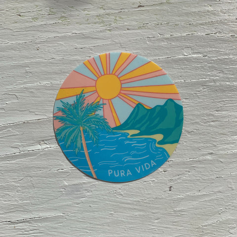 Pura Vida Bracelets - Sunrise Sticker