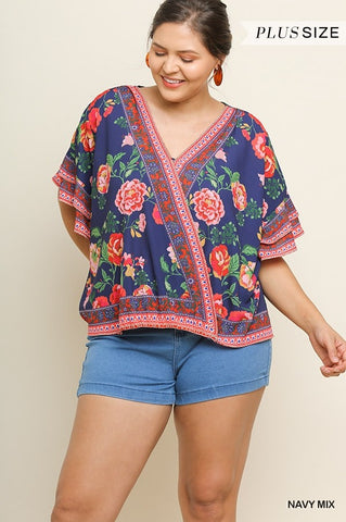 The Cindy Top (Sizes XL-2x)