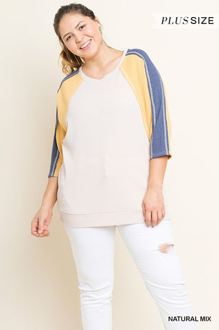 The Pammy Top (Sizes XL-2x)