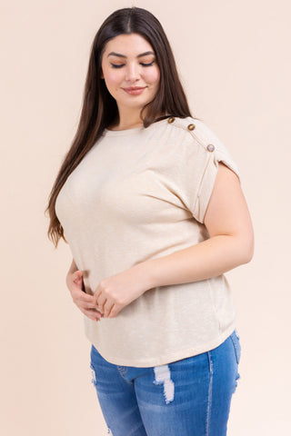 The Geri Top (Sizes 1X-3X)